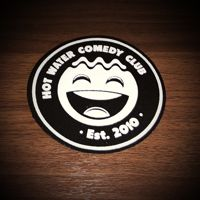Official Hot Water Comedy Club Woven Patch