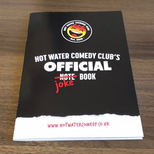 Official Hot Water Comedy Club Note Pad