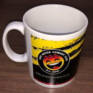 Official Hot Water Comedy Club Mug