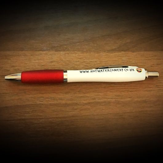Official Hot Water Comedy Club Pen