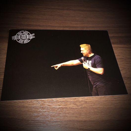 Paul Smith Hiya Mate 2018 Collectible Tour Postcard (7 of 10)