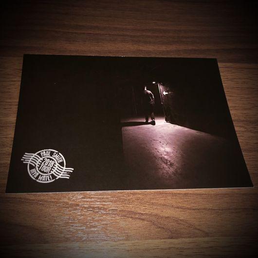 Paul Smith Hiya Mate 2018 Collectible Tour Postcard (5 of 10)