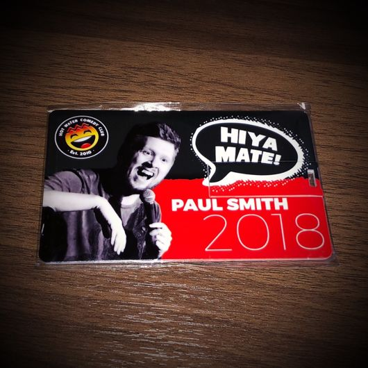 Paul Smith: Hiya Mate (2018) - USB Card